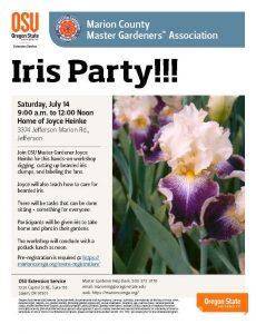 Iris Party @ Jefferson   Oregon   United States