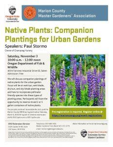 Native Plants - Companion Planting @ Oregon Department of Fish & Wildlife Headquarters